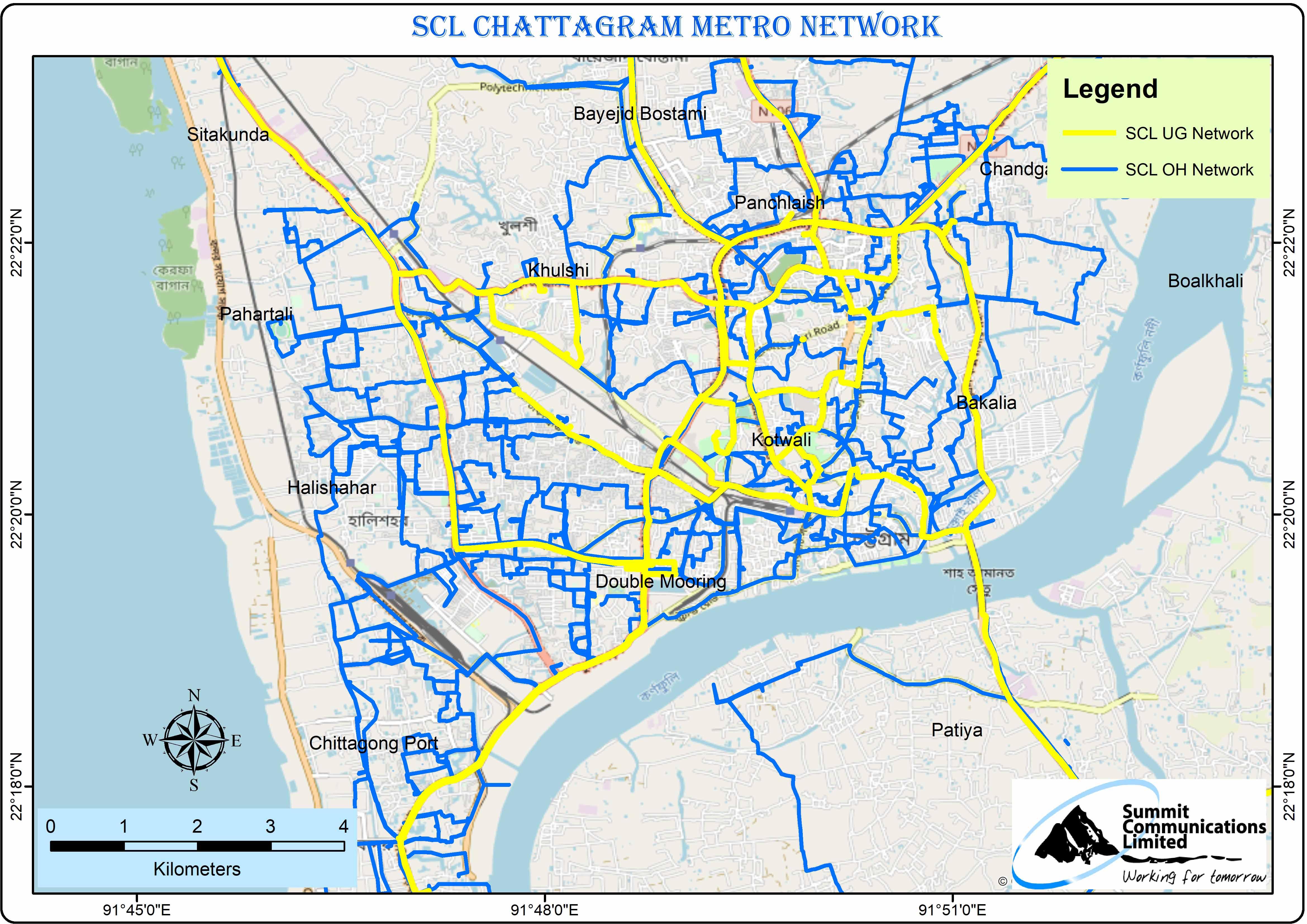 Chittagong Metro Map